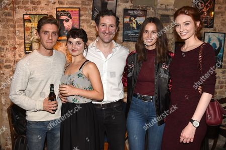 Stock Picture of Jack Farthing, Ruby Bentall, John Hollingworth, Heida Reed and Eleanor Tomlinson