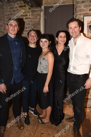 Editorial image of 'Britten in Brooklyn' after show party at Wilton's Music Hall, London, UK - 02 Sep 2016