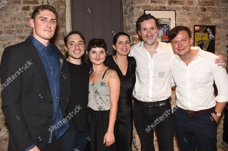 Editorial photo of 'Britten in Brooklyn' after show party at Wilton's Music Hall, London, UK - 02 Sep 2016