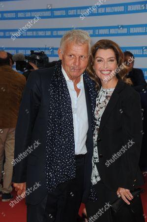 Patrick Poivre d'Arvor and Daphne Roulier
