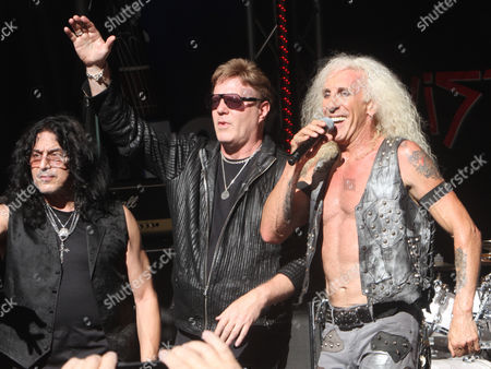 Stock Picture of Twisted Sister - Eddie Ojeda, Jay Jay French, Dee Snider,