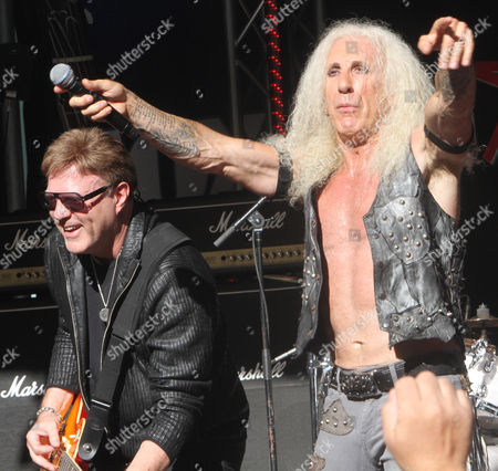 Stock Photo of Twisted Sister - Jay Jay French, Dee Snider,