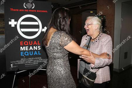 Kamala Lopez (Writer, director, producer) and Rita Henley Jensen