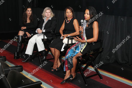 Kamala Lopez (Writer, director, producer), Dr. Brigitte Alexander, Taina Bien-Aime and Gina Abercrombie-Winstanley