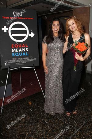 Kamala Lopez (Writer, director, producer) and Jennifer Sykes