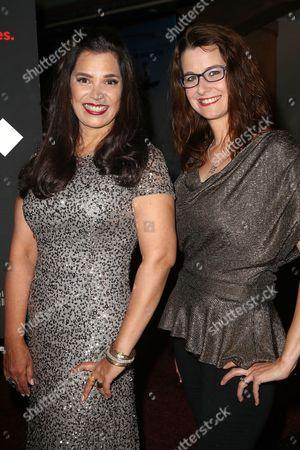 Kamala Lopez (Writer, director, producer) and Jendra Jarnagin