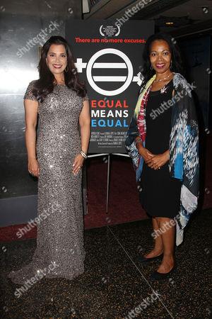 Kamala Lopez (Writer, director, producer) and Gina Abercrombie-Winstanley