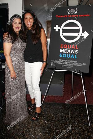 Kamala Lopez (Writer, director, producer) and Annie Delgado