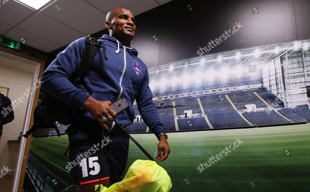 Florent Malouda of Delhi Dynamos arrives before the International friendly match between West Bromwich Albion and Delhi Dynamos played at The Hawthorns, West Bromwich on 3rd September 2016