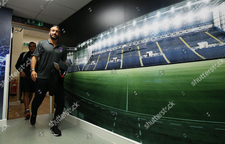 Gianluca Zambrotta Manager of Delhi Dynamos arrives before the International friendly match between West Bromwich Albion and Delhi Dynamos played at The Hawthorns, West Bromwich on 3rd September 2016