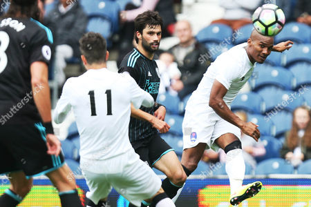 Florent Malouda of Delhi Dynamos during the International friendly match between West Bromwich Albion and Delhi Dynamos played at The Hawthorns, West Bromwich on 3rd September 2016