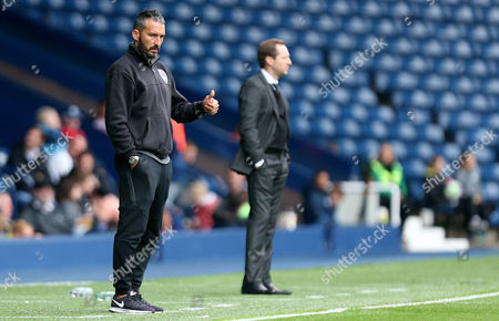 Gianluca Zambrotta Manager of Delhi Dynamos during the International friendly match between West Bromwich Albion and Delhi Dynamos played at The Hawthorns, West Bromwich on 3rd September 2016