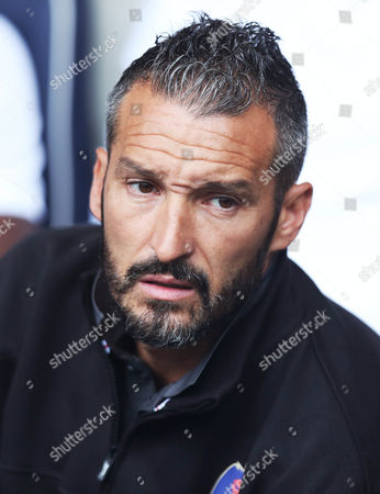 Gianluca Zambrotta Manager of Delhi Dynamos  before the International friendly match between West Bromwich Albion and Delhi Dynamos played at The Hawthorns, West Bromwich on 3rd September 2016