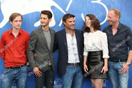 Editorial image of 'Frantz' photocall, 73rd Venice Film Festival, Italy - 03 Sep 2016