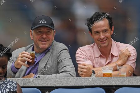 Kevin Spacey and Nathan Darrow