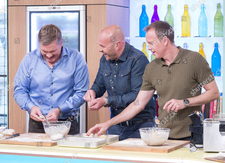 Ray Mears, Simon Rimmer and Tim Lovejoy