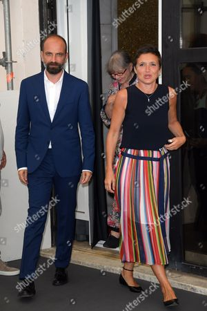 Massimo D'Anolfi and Martina Parenti