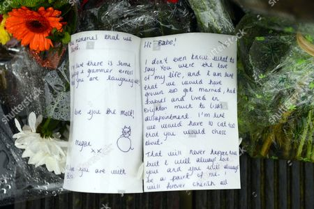 A Poignant Good-bye Letter From Megan Duffy The Girl Friend Of Jacob Schilt Who Was Tragically Killed In The Shoreham Air Show Plane Crash.