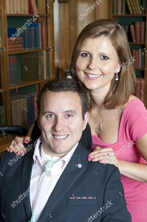 Former Professional Rugby Player And Now Quadriplegic Matt King And His Fiancee Ilona.