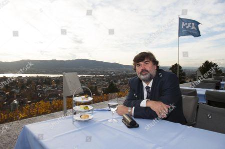 Martin Samuel Visits Restaurant Sonnenberg In Zurich Switzerland Where Disgraced Fifa President Sepp Blatter Would Often Dine.