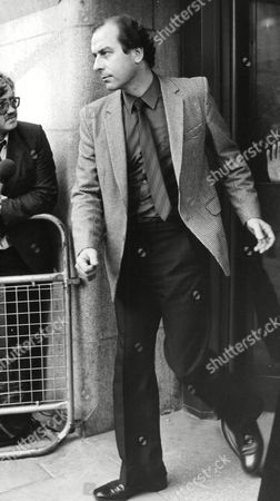 Editorial photo of Det. Con. Peter Finch Leaving The Old Bailey After Being Found Not Guilty At The Shooting Of Stephen Warldorf. (for Full Caption See Version) Box 703 1002081611 A.jpg.