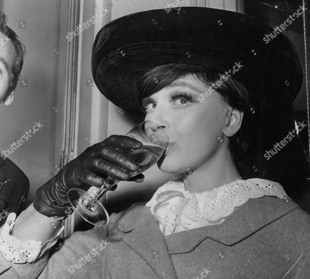 Actress Fenella Fielding At The Centenary Luncheon At The Cafe Royal. Box 703 40208169 A.jpg.