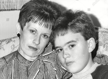 Widow Susan Fletcher And 12-year-old Son Martin Fletcher A Survivor Of The Bradford City Stadium Fire. Susan Lost Four Members Of Her Family In The Disaster - Including Her Husband John Fletcher And Son Andrew Fletcher. Box 704 30408161 A.jpg.