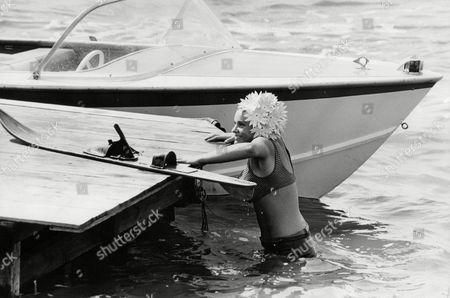 Dana Gillespie Pop Singer (a.k.a.): Richenda Antoinette De Winterstein Gillespie The British Junior Water-ski Champion. Box 705 505081649 A.jpg.