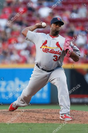 Jerome Williams St. Louis Cardinals starting pitcher Jerome Williams throws in the eighth inning of a baseball game against the Cincinnati Reds, in Cincinnati. The Reds won 9-1