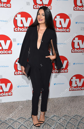 Editorial image of TV Choice Awards, The Dorchester, London, UK - 05 Sep 2016