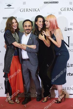 Maria Valverde, Koldo Serra, Barbara Goenaga, Ingrid Garcia Jonsson