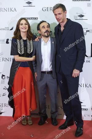 Maria Valverde, Koldo Serra, James D'Arcy