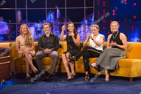 Laura Trott, Jason Kenny, Maddie Hinch, Kate Richardson-Walsh and Hollie Webb