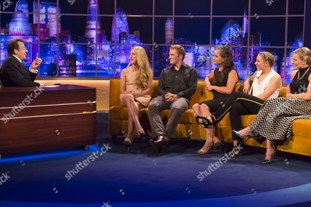 Jonathan Ross, Laura Trott, Jason Kenny, Maddie Hinch, Kate Richardson-Walsh and Hollie Webb