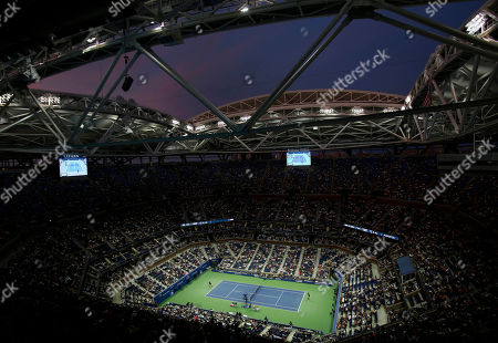 Editorial image of US Open Tennis Championships, Day 8, Flushing Meadows, New York, USA - 05 Sep 2016