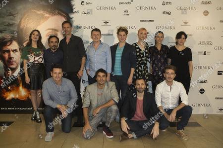 Maria Valverde, Koldo Serra, James Darcy, Ingrid Garcia-Jonsson, Barbara Goenaga, Alex Garcia, Julian Villagran and Victor Clavijo.