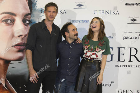 James Darcy, Koldo Serra and Maria Valverde