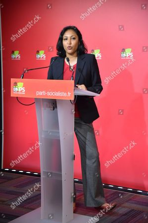 Editorial photo of Corinne Narassiguin, French Socialist Party (PS) spokesperson, Paris, France - 05 Sep 2016