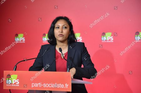 Editorial picture of Corinne Narassiguin, French Socialist Party (PS) spokesperson, Paris, France - 05 Sep 2016
