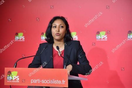 Editorial image of Corinne Narassiguin, French Socialist Party (PS) spokesperson, Paris, France - 05 Sep 2016