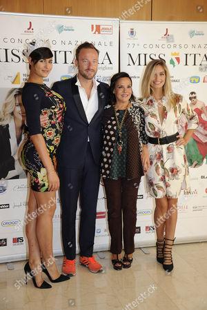 Alice Sabatini, Dj Francis, Patrizia Mirigliani, Giulia Arena