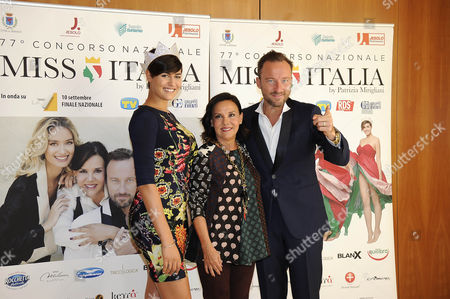 Editorial photo of Miss Italy launch, Milan, Italy - 06 Sep 2016