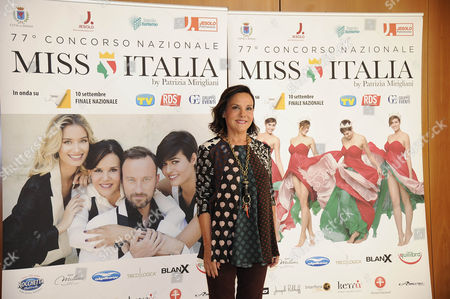 Editorial image of Miss Italy launch, Milan, Italy - 06 Sep 2016