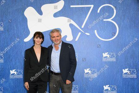 Judith Chemla, director Stephane Brize