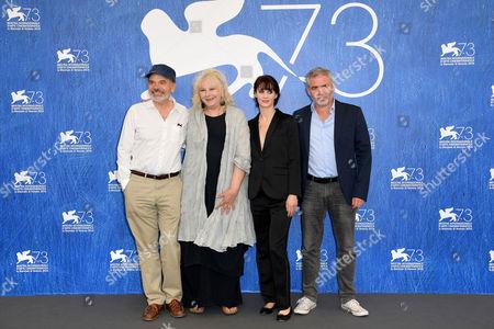 Jean-Pierre Darroussin, Yolande Moreau, Judith Chemla, director Stephane Brize