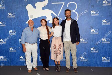 Renato Scarpa, Camilla Diana, Cristiana Capotondi, Kim Rossi Stuart