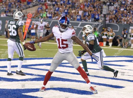 Editorial picture of New York Giants v New York Jets, NFL football game, East Rutherford, USA - 27 Aug 2016