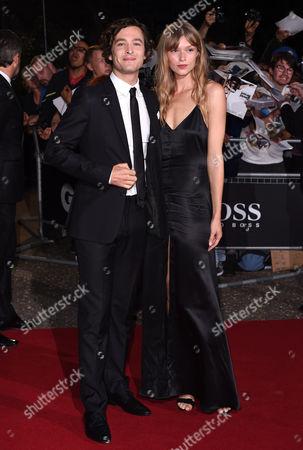 Alexander Vlahos and Kajsa Mohammar