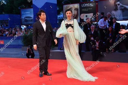 Kei Ishikawa and the actress Hikari Mitsushima