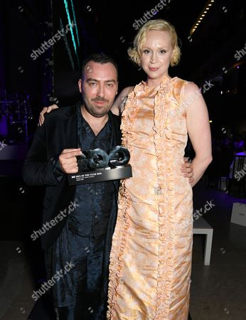 James Long and Gwendoline Christie